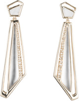 Alexis Bittar Crystal Dangling Spoked Post Earring