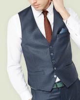 Debonair Micro Checked Waistcoat
