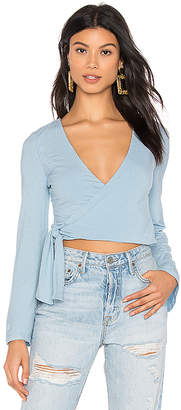 Privacy Please Nikita Wrap Top
