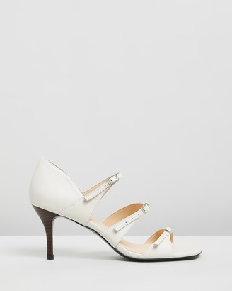 Atmos & Here Carla Leather Heels