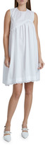 Simone Rocha Sleeveless Asymmetrical Babydoll Dress