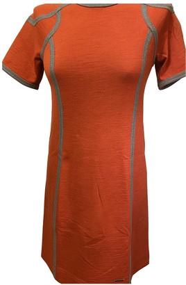 Escada Orange Wool Dress for Women