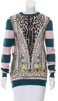 Just Cavalli Virgin Wool Trompe L'oeil Sweater