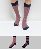 Tommy Hilfiger Tommy Hifliger 2 Pack Socks In Stripe