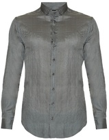 Giorgio Armani Button-cuff Silk Shirt