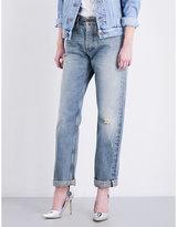 Fiorucci The Curtis boyfriend-fit high-rise jeans
