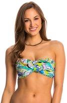 Trina Turk Swimwear Nomad Paisley Twist Bandeau Bikini Top 8142872