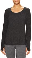 Printed Scoopneck Sweater