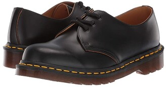 Dr. Martens Made In England Vintage 1461 Made In England (Black Vintage) Lace up casual Shoes