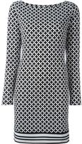 MICHAEL Michael Kors checked shift dress