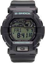 G-Shock G SHOCK Mens Black and Blue Auto LED Strap Watch GD350-1C