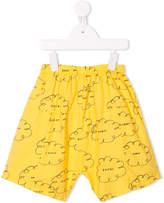 Bobo Choses cloud print trousers