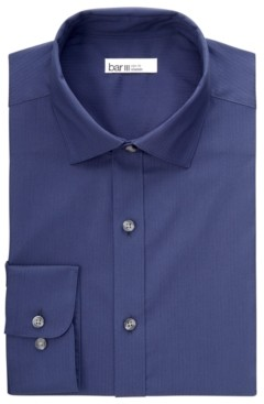 Bar III Men's Tonal Dobby Slim Fit Dress Shirt, Created for Macy's