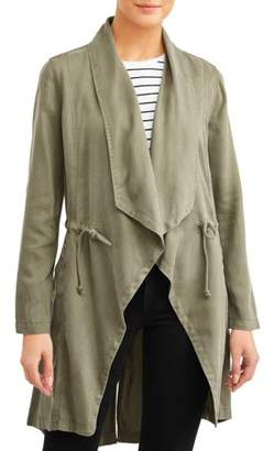 Max Jeans Women's Drape Front Jacket