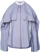 Rosetta Getty cold-shoulder shirt - women - Cotton - 2