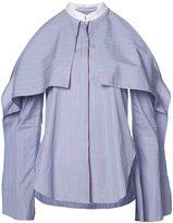 Rosetta Getty cold-shoulder shirt - women - Cotton - 6
