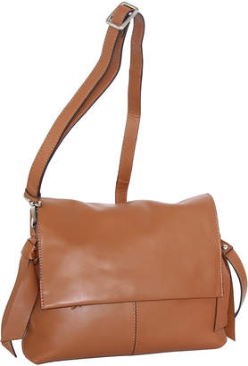 Nino Bossi Handbags Women's Handbags Cognac - Cognac Tahlia Leather Crossbody Bag