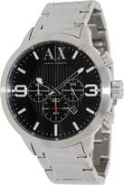 Armani Exchange A|X Men's AX1272 Silver Stainless-Steel Quartz Watch with Dial