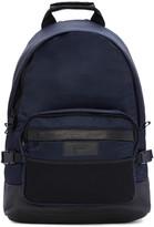 Ami Alexandre Mattiussi Blue Nylon Backpack