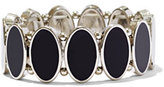 New York & Co. Enamel & Silvertone Stretch Bracelet