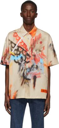Heron Preston Multicolor Robert Nava Edition Baseball Shirt