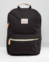 Levis Levi's Canvas Backpack In Black