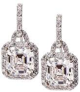 FANTASIA 3.5ct Asscher Cut Cubic Zirconia Earrings
