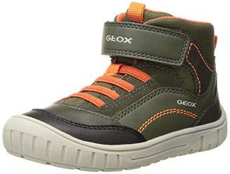 Geox Baby Boys' B Omar A Low-Top Sneakers, Green (Forest C3018)