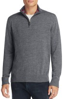 Tailorbyrd Grinnell Wool Half-Zip Sweater