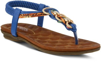 Spring Step Patrizia by T-Strap Sandals - Gadelina