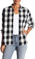 Madewell Oversized Flannel Long Sleeve Shirt