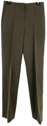 Diane von Furstenberg Green Polyester Trousers