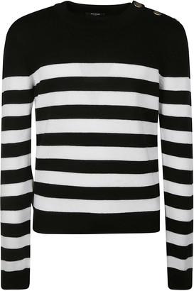 Balmain Stripe Sweater