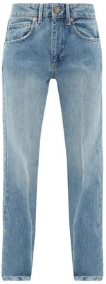 Raey Push Straight-leg Jeans - Light Blue