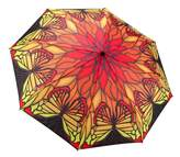 Galleria Stainglass Butterfly Umbrella