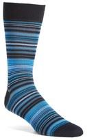 Bugatchi 'Alternating Thin Stripe' Socks