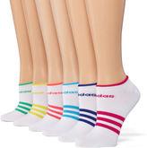 adidas 6pk Superlite No Show Socks