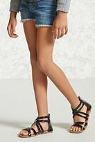 FOREVER 21 girls Girls Gladiator Sandals (Kids)