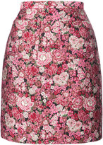 ADAM by Adam Lippes floral patterned mini skirt