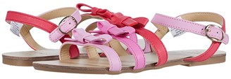 Janie and Jack Multi Bow Sandal (Toddler/Little Kid/Big Kid) (Pink) Girl's Shoes