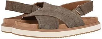 Toms Marisa (Dusty Gold Star Suede) Women's Sandals