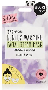Oh K! SOS Gently Warming Facial Steam Sheet Mask
