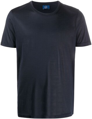Barba silk crew neck T-shirt