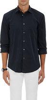 Hartford Men's Cotton Poplin Shirt-GREY