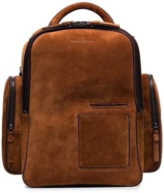 Ermenegildo Zegna Zip-Around Backpack