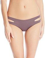 L-Space LSpace Women's Estella Classic Fit Cut Out Bikini Bottom