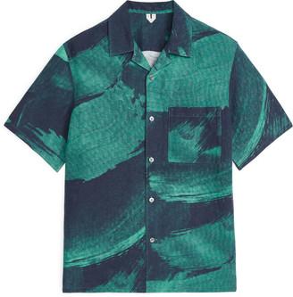 Arket Linen-Silk Resort Shirt