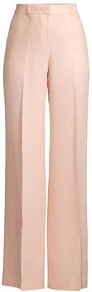 Lafayette 148 New York Dalton Linen Wide-Leg Pants