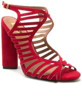 Qupid Lyra high heel cage sandal