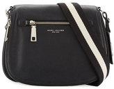 Marc Jacobs Gotham Leather Saddle Bag, Black